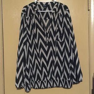 Torrid sheer blouse